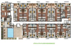 4th and 5th Floor Residences