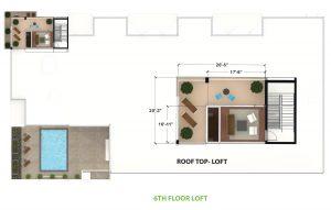 6th Floor Loft Layout