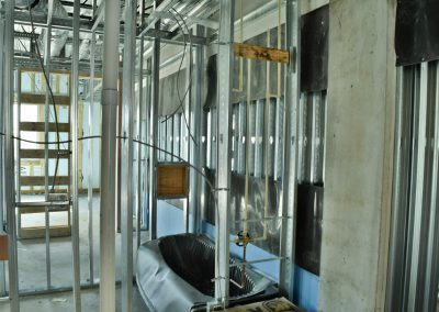 5th Fl Framing and Sound Barrier Jan 2 20