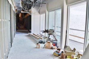 5th FL Glass Hallway March 19 2020