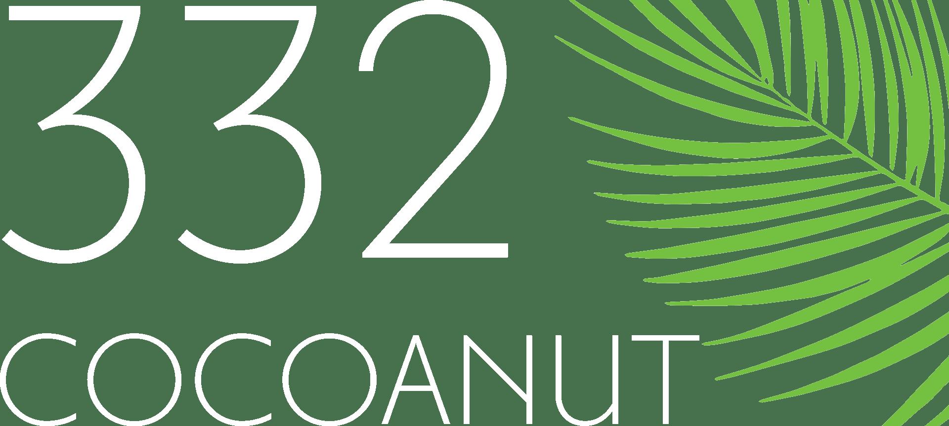 332 Cocoanut Logo