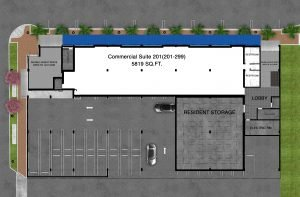 Sarasota Florida Commercial 2nd Floor Plan