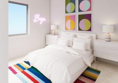 Unit 501 Guest Bedroom