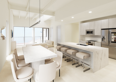 Unit 501 kitchen