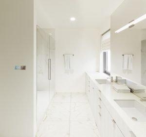 Unit 501 master bathroom
