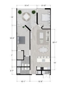 Tribeca floor plan 2/2