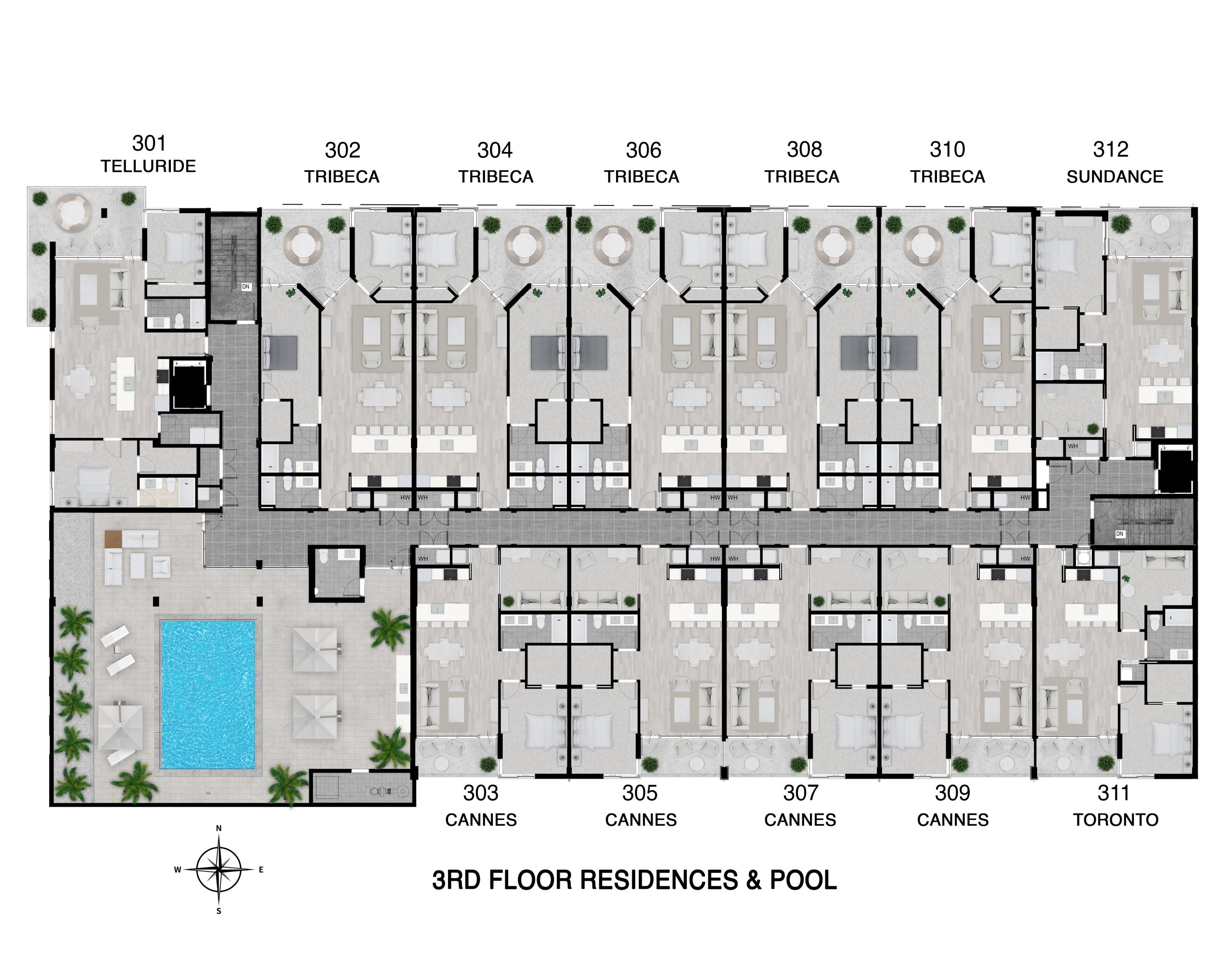 Floor 3 Full Level Floor Plan