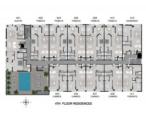 Floor 4 Full Level Floor Plan