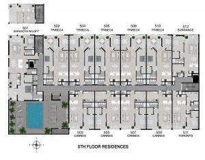 Floor 5 Full Level Floor Plan
